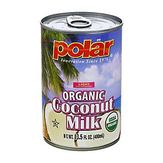 Polar Organic Light Coconut Milk,13.5 oz
