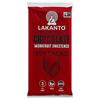 Lakanto Gluten Free Sugar Free Chocolate 55%, 3 oz