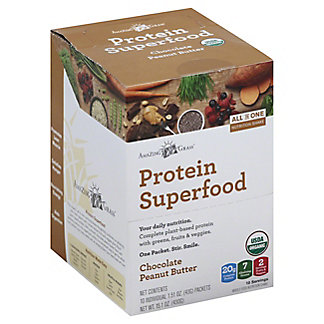 Amazing Grass Protein Superfood Peanut Butter Chocolate Packets, 10 ct