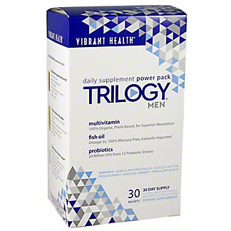VIBRANT HEALTH Trilogy Men 30 Day Supply, 30 PKT