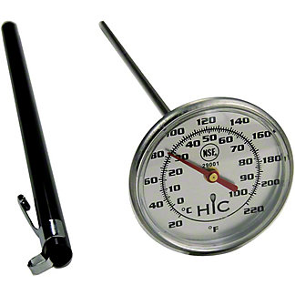 Harold Imports 2 Inch Face Meat Thermometer, ea