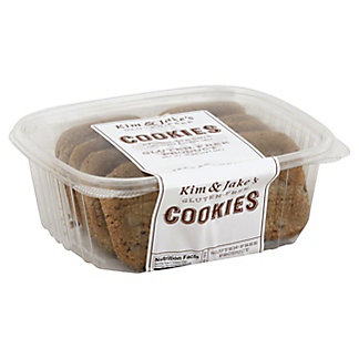 Kim & Jake's Gluten-Free Chocolate Chip Cookies With Ocean Salt, 10 oz