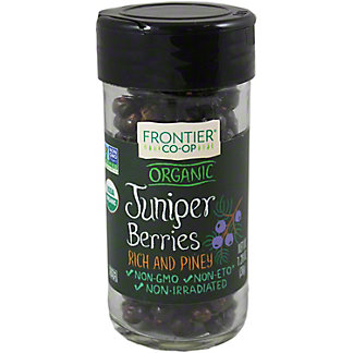 Frontier Organic Whole Juniper Berries, 1.28 oz