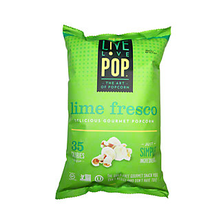 Live Love Pop Lime Fresco Popcorn,4.4OZ