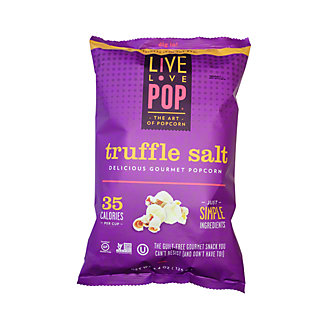 Live Love Pop Truffle Salt Popcorn,4.4OZ