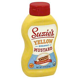 Suzies Suzies Suzies Organic Yellow Mustard,8 Oz