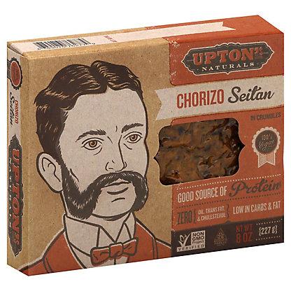 Upton' Naturals Seitan Chorizo, 8 oz