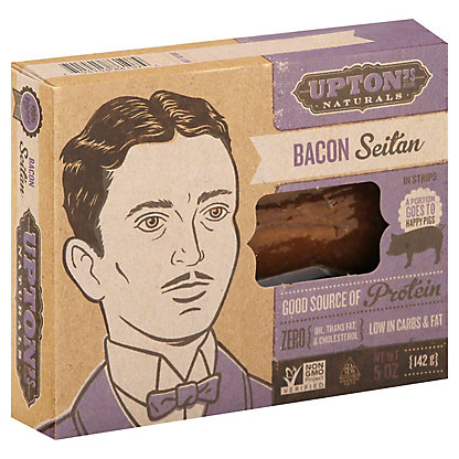 Uptons Naturals Seitan Bacon, 5 oz