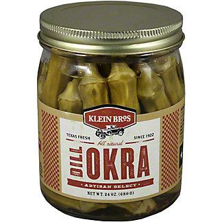 Klein Bros Artisan Select Dill Okra,24.00 oz