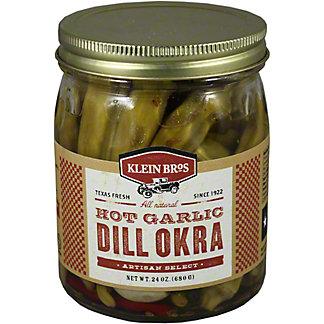 Klein Bros Artisan Select Hot Garlic Dill Okra, 24.00 oz