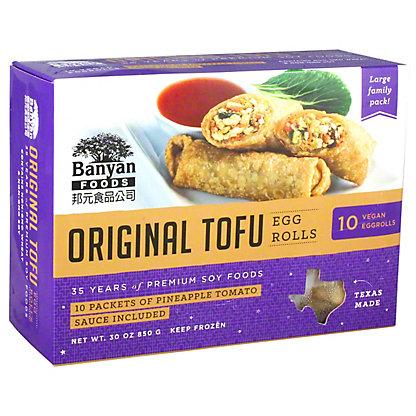 BANYAN Original Tofu Egg Rolls,30 oz