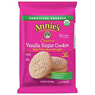 Annie's Organic Vanilla Sugar Cookie Bake & Share Dough, 12 oz