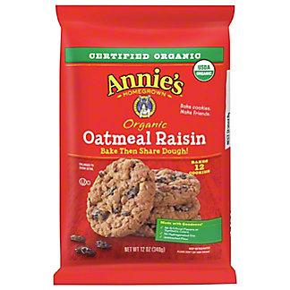 Annie's Organic Oatmeal Raisin Bake & Share Dough, 12 oz