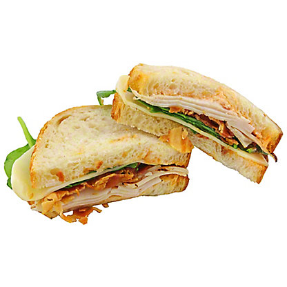 Central Market Turkey Bacon With Chipotle Mayo Sandwich, EACH
