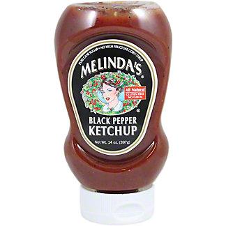 Melinda's Black Pepper Ketchup, 14 oz