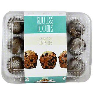 Guiltless Superfoods Dark Chocolate Chip Mini Muffins, 16 oz