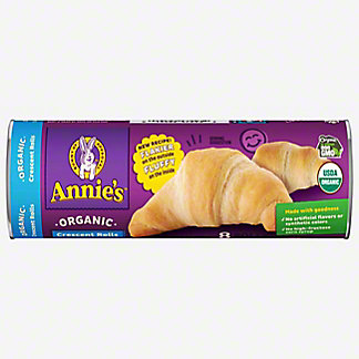Annie's Homegrown Organic Crescent Rolls 8 Count, 8 oz