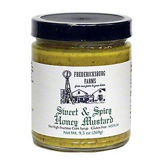 Fredericksburg Farm Sweet & Spicy Honey Mustard, 10 oz