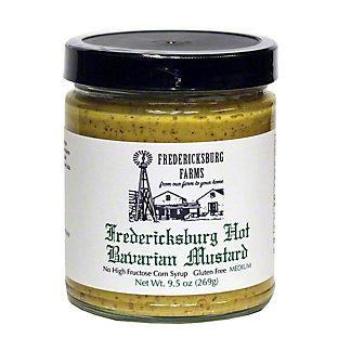 Fredericksburg Farms Hot Bavarian Mustard, 9.5 oz