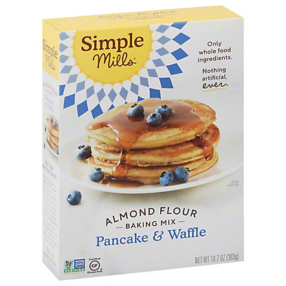 Simple Mills Pancake and Waffle Almond Flour Mix, 10.7 oz