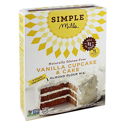 Simple Mills Vanilla Cake Mix, 11.50 oz
