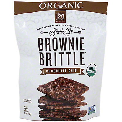 SHEILA GS Brownie Brittle Organic Chocolate Chip,5OZ