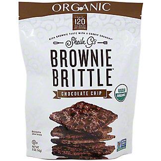 SHEILA GS Brownie Brittle Organic Chocolate Chip,5OZ