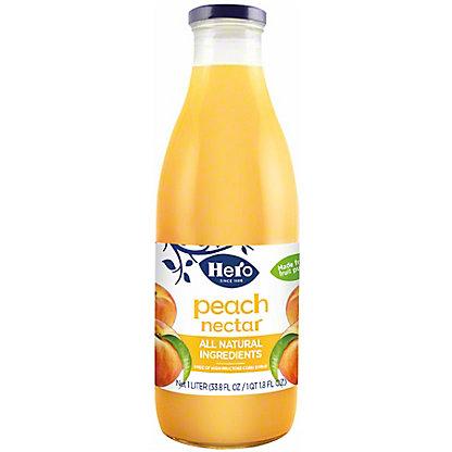 Hero Peach Nectar,33.80 oz
