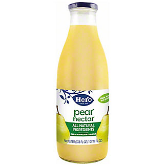 Hero Pear Nectar,33.80 oz