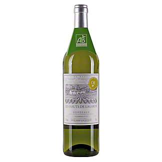 Les Hauts De Lagarde Bordeaux White Wine, 750 ML