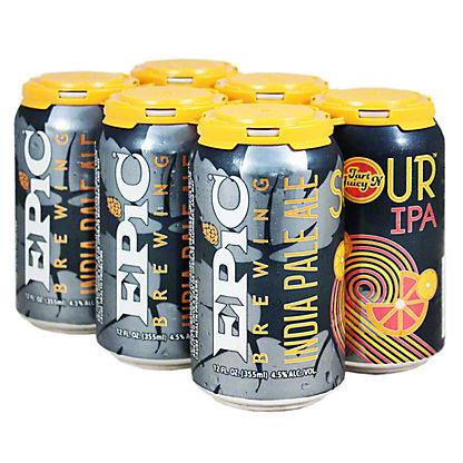 Epic Brewing Co. Tart N Juicy Sour IPA, 6/12 oz