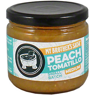 My Brothers Peach Tomatillo Salsa, 11 OZ