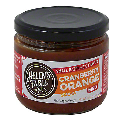 Helen's Table Cranberry Orange Salsa, 11 OZ