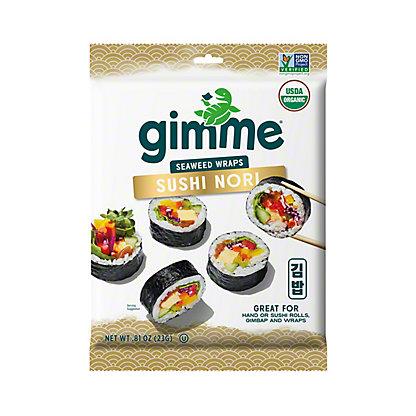 Gimme Gimme Organic Sushi Nori Wrap N Roll,10.00 ea