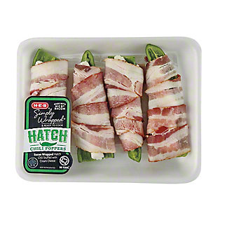 H-E-B Bacon Wrapped Hatch Pepper with Cream Cheese