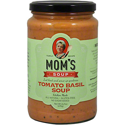 Moms Tomato Basil Soup,24.5OZ
