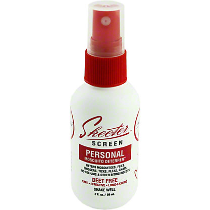 Skeeter Screen Personal Mosquito Deterrent Spray, 2 oz