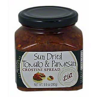 Elki Sun-dried Tomato Parmesan Crostini Spread, 9.9 oz