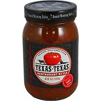 Texas Texas Hot Restaurant Salsa, 16 oz