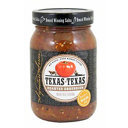 Texas Texas Roasted Obsession Salsa, 16 oz