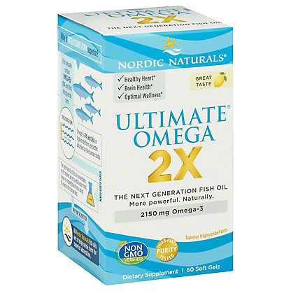 Nordic Naturals Ultimate 2X,60 SG