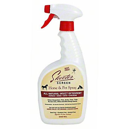 Skeeter Screen Horse & Pet Spray Natural Insect Deterrent, 32 oz