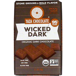 Taza Amaze Wicked Dark Chocolate Bar, 2.5 OZ