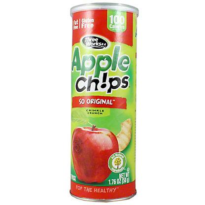 Three Works Three Works Apple Chips So Original, 1.76 oz