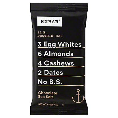 RxBar Protein Bar Chocolate Sea Salt,1.8 OZ