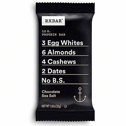 RxBar Protein Bar Chocolate Sea Salt, 1.8 oz