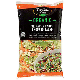 Taylor Farms Organic Sriracha Ranch Chopped Salad,12.8 oz