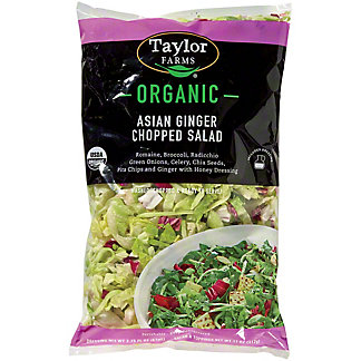 Taylor Farms Organic Asian Ginger Chopped Salad Kit,13.3 OZ