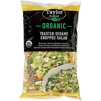 Taylor Farms Organic Toasted Sesame Chopped Salad Kit,11.3 oz