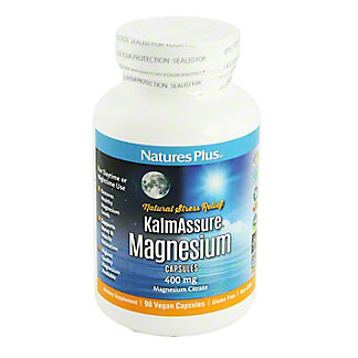 Natures Plus Kalm Assure Magnesium Vegan capsules,EACH
